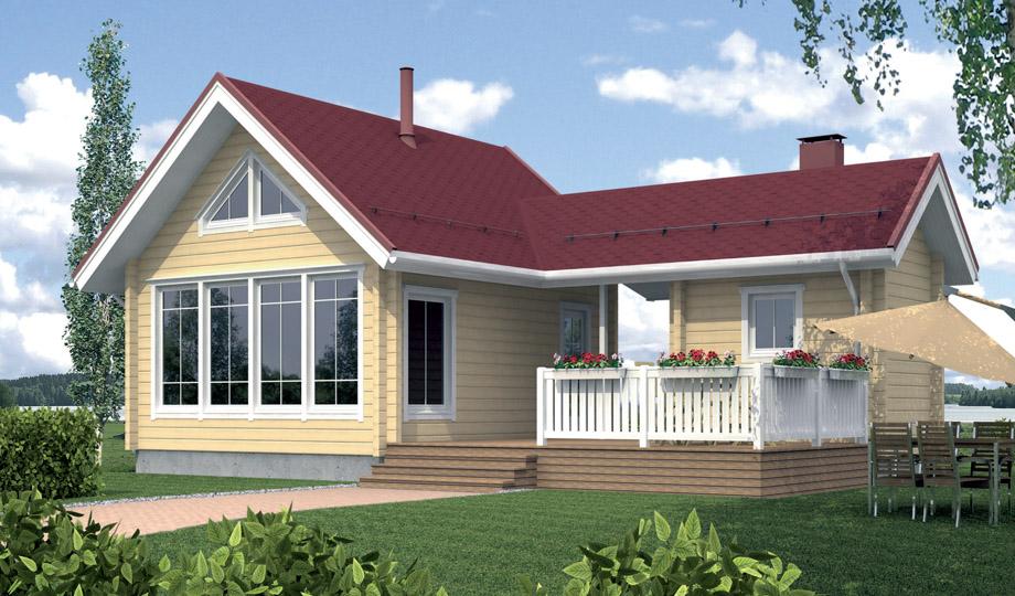 Как сделать двухэтажный дом из одноэтажного дома