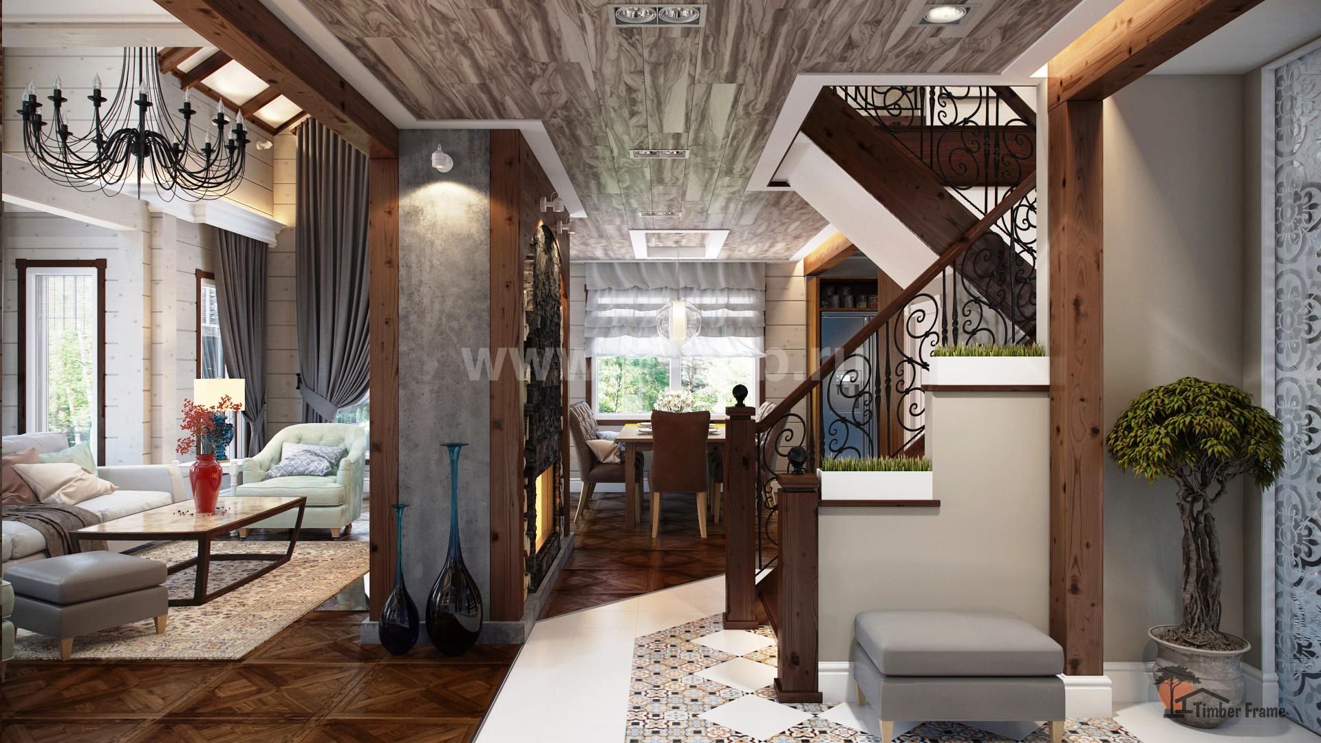 Дизайн всего дома полностью